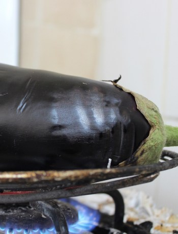 fire roasted eggplant recipe