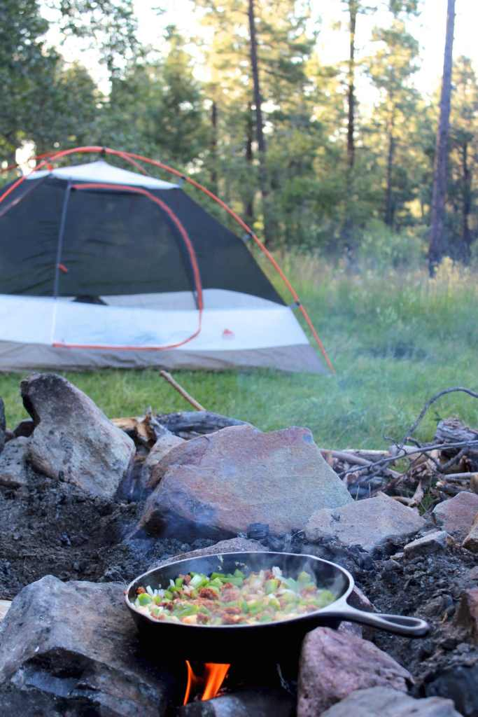 Easy camping arroz con pollo recipe | Nourishing Wild