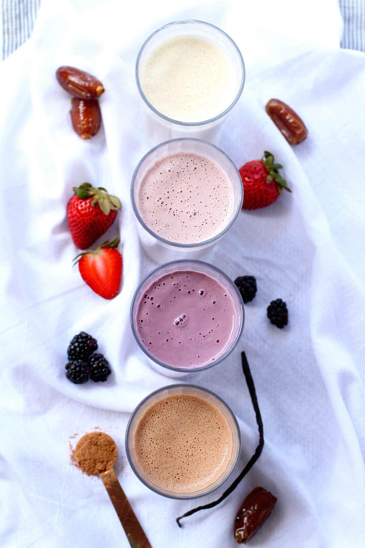 Easy homemade cashew milk for the best healthy easy breakfast | Nourishing Wild