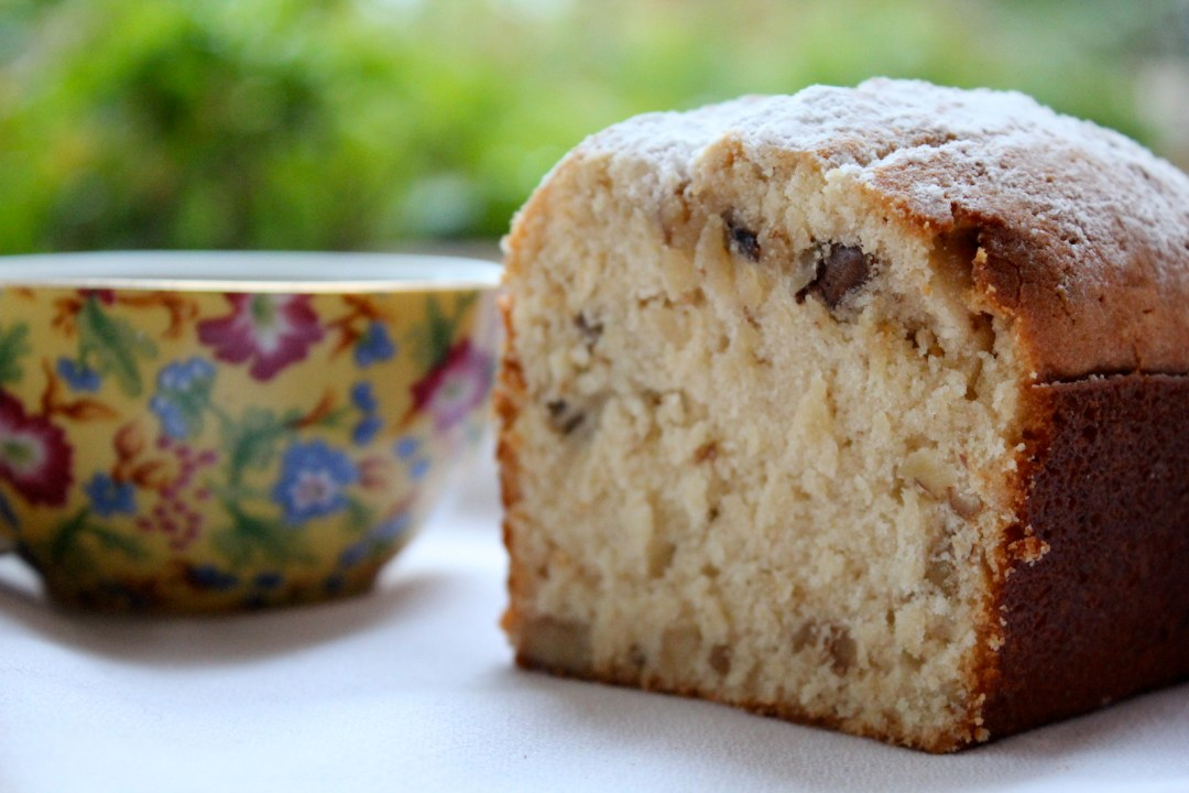 Easy vanilla loaf cake with bourbon vanilla | Nourishing Wild