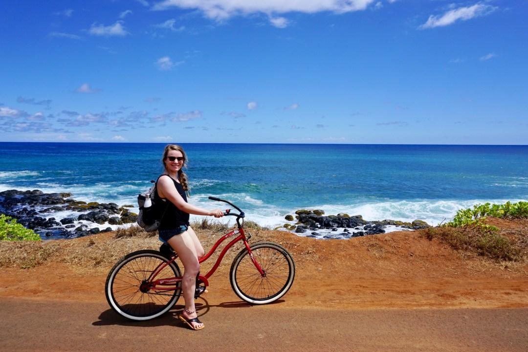 Bike tour in Kapaa, Kauai | Kauai Travel Tips | Nourishing Wild