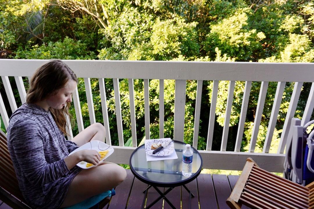 Pineapple for breakfast on Kauai | Kauai Travel Guide | Nourishing Wild