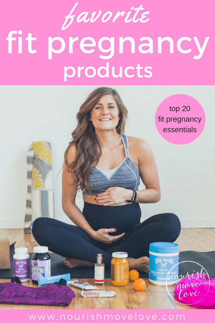 my favorite fit pregnancy products | www.nourishmovelove.com