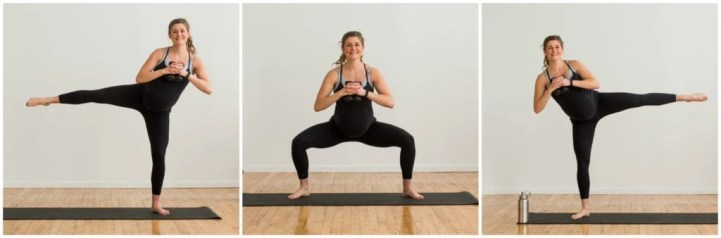 Image result for Basic Squat With Side Leg Lift