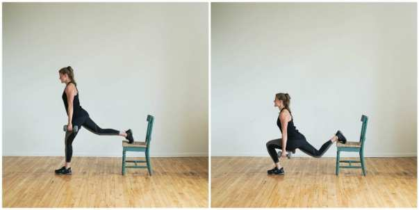 Image result for Bulgarian Lunges