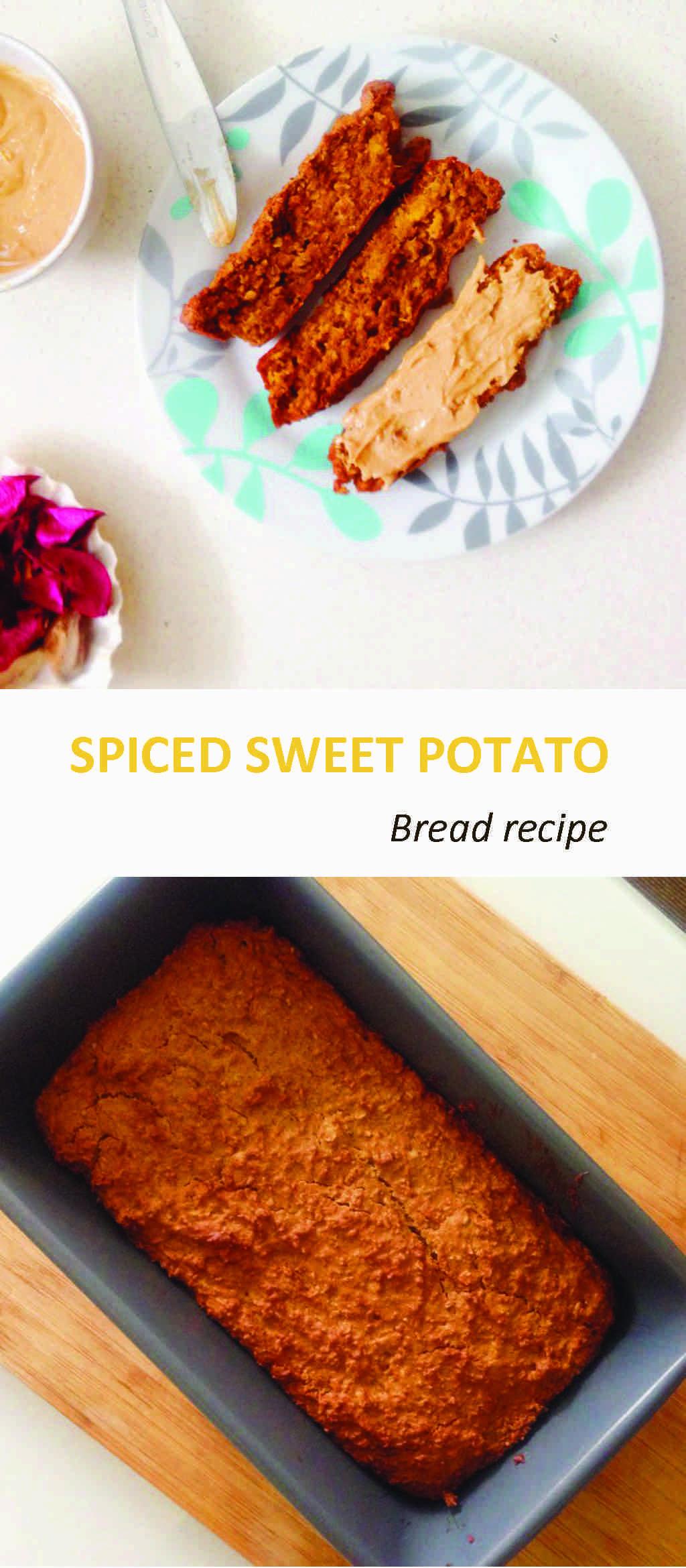 Healthy Spiced sweet potato Bread Recipe