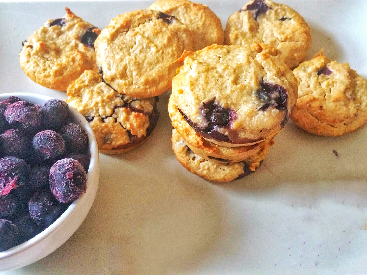 Healthy Blender Blueberry Oat Muffin Recipe