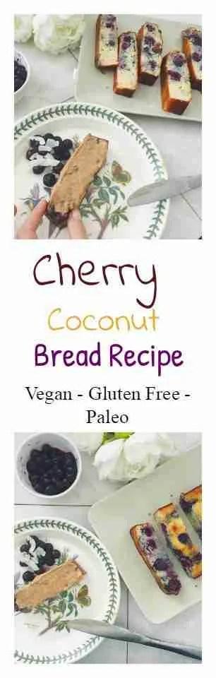 Cherry Coconut Bread Recipe