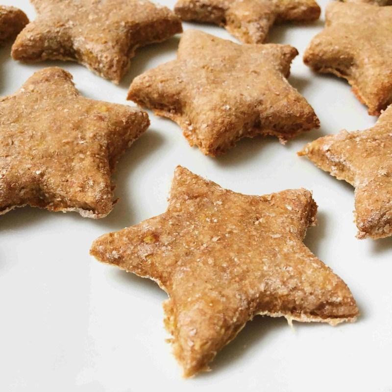 Cinnamon Christmas Stars Biscuits Recipe Vegan + Gluten free