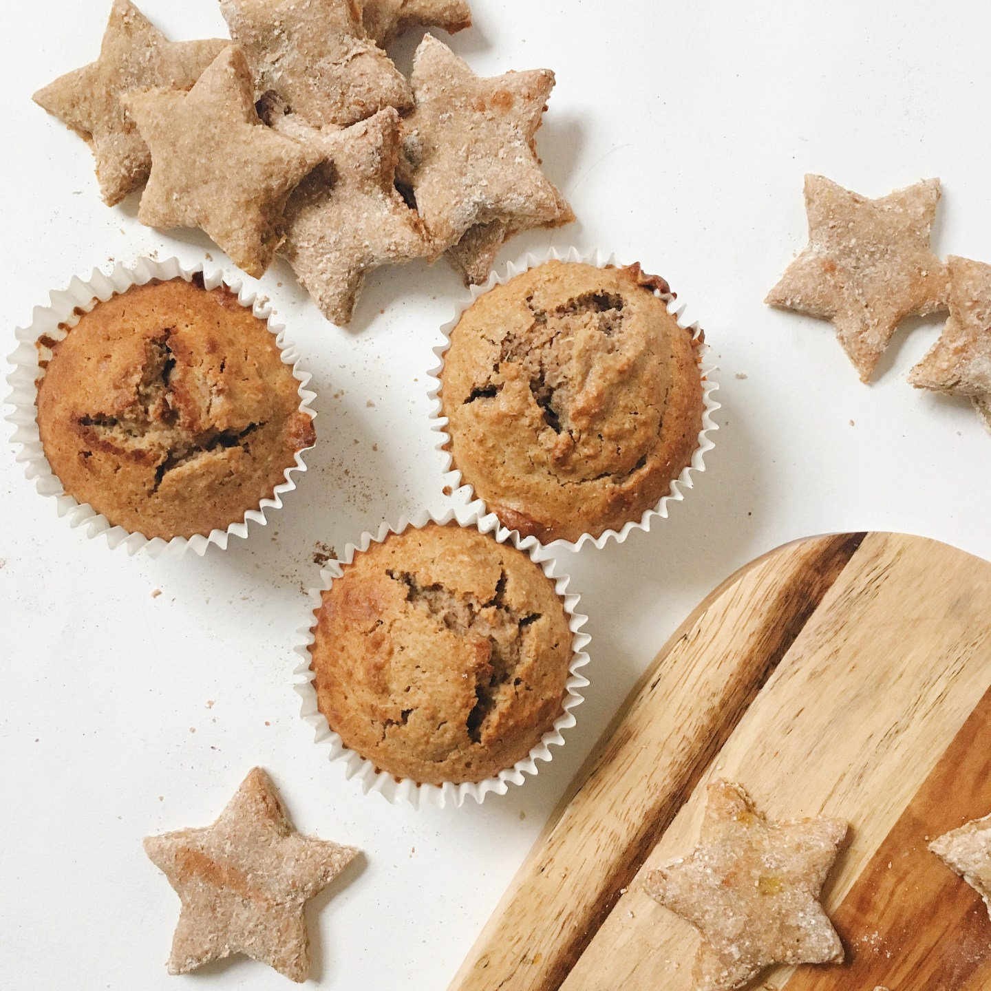 Healthy Ginger Bread Muffin Vegan and Gluten Free