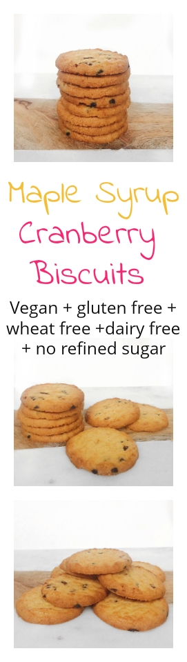 Vegan, gluten free, wheat free, dairy free and no refined sugar