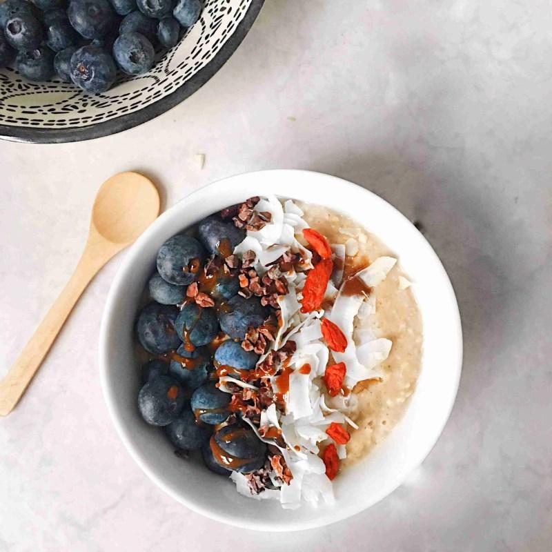 Super food maca porridge recipe