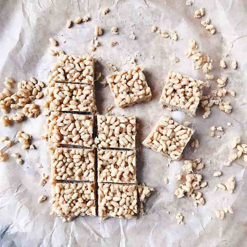 3 ingredient rice crispy treats recipe