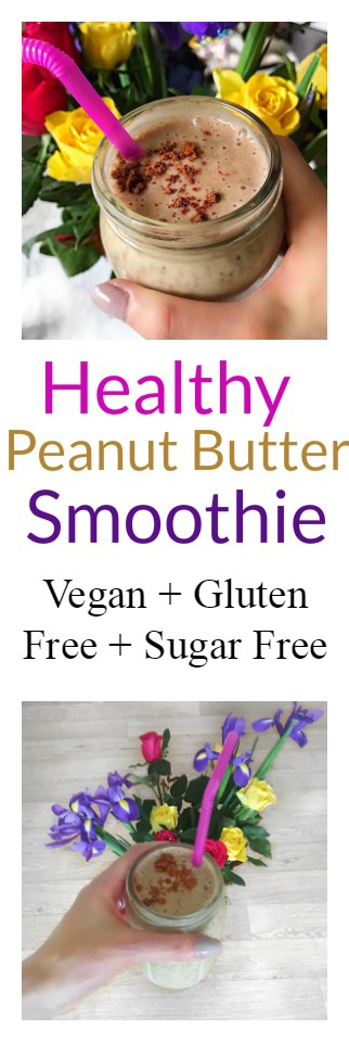 Healthy Peanut Butter Smoothie Recipe