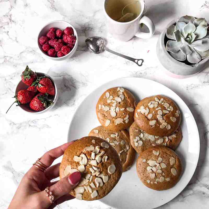 Almond Butter Healthy Cookies Recipe