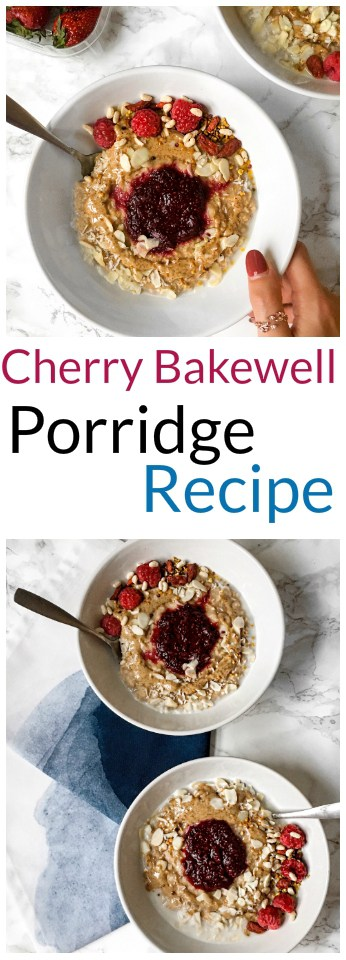 Cherry Bakewell Porridge recipe