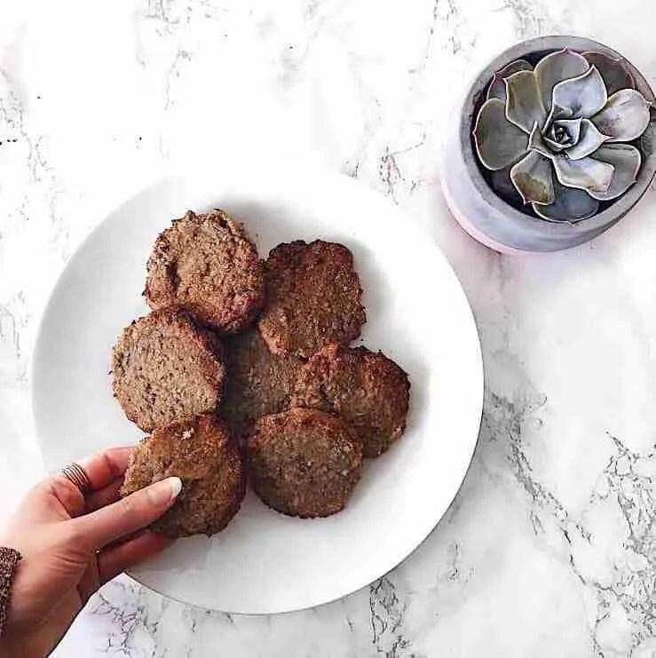 Coconut Vegan Biscuits