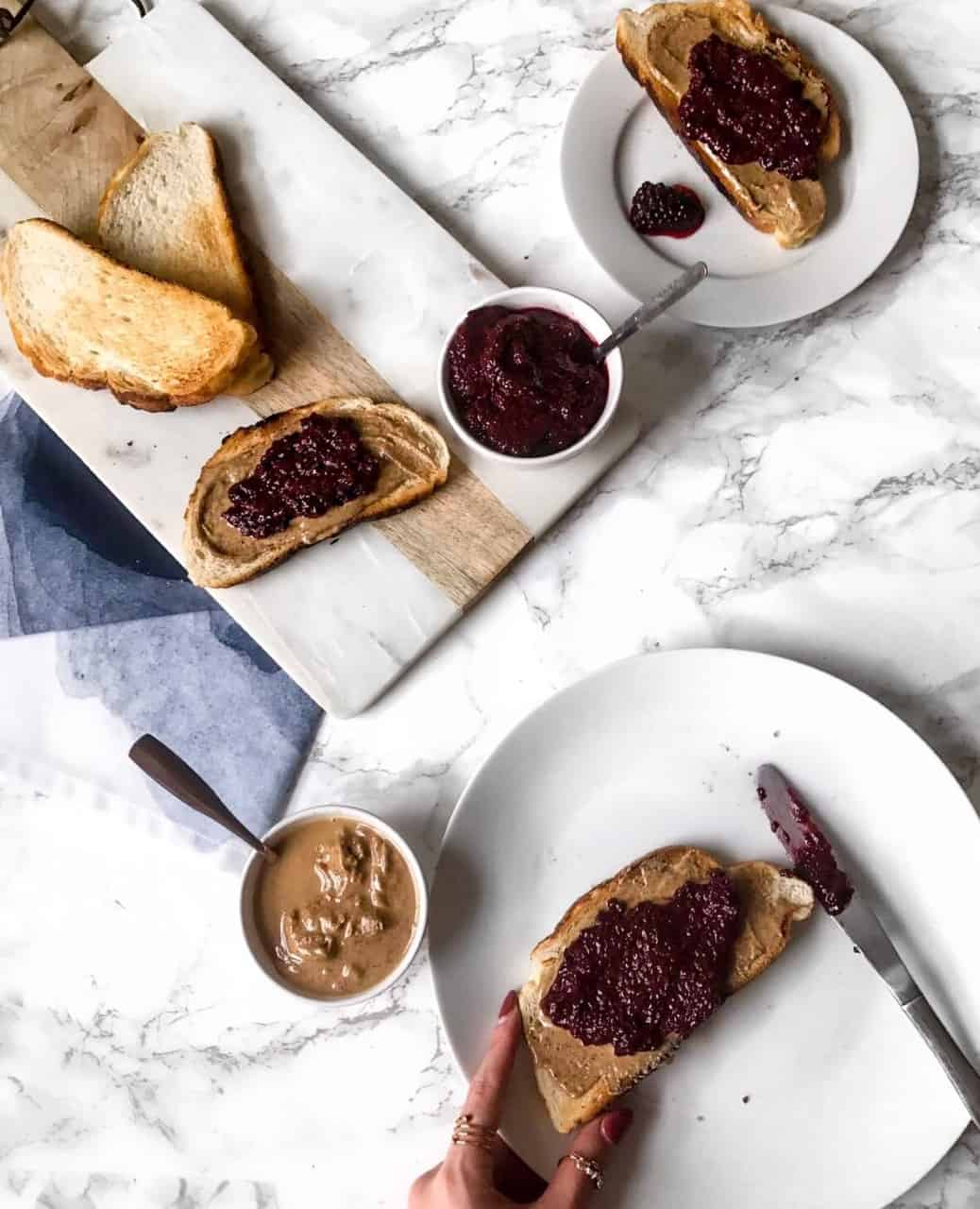 Easy + Healthy Blackberry Chia Jam Recipe