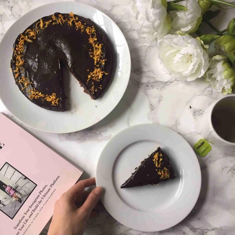 Chocolate Orange Ganache Cake