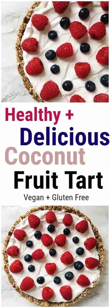 Coconut Fruit Tart Recipe