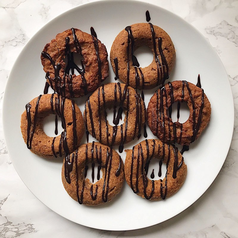 Peanut Butter Baked Doughnuts Recipe