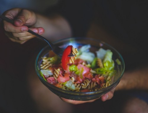 salade de pâtes complètes