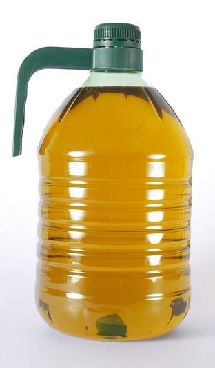 huile d'olive plastique