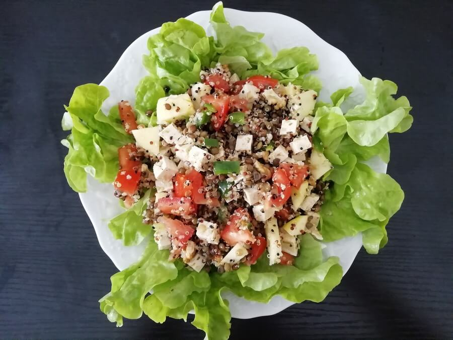 salade pour pique-nique équilibré