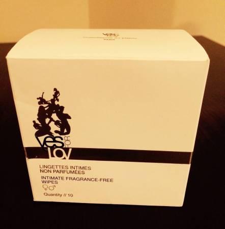 NXPL - Lingettes de toilette Intime YesForLov