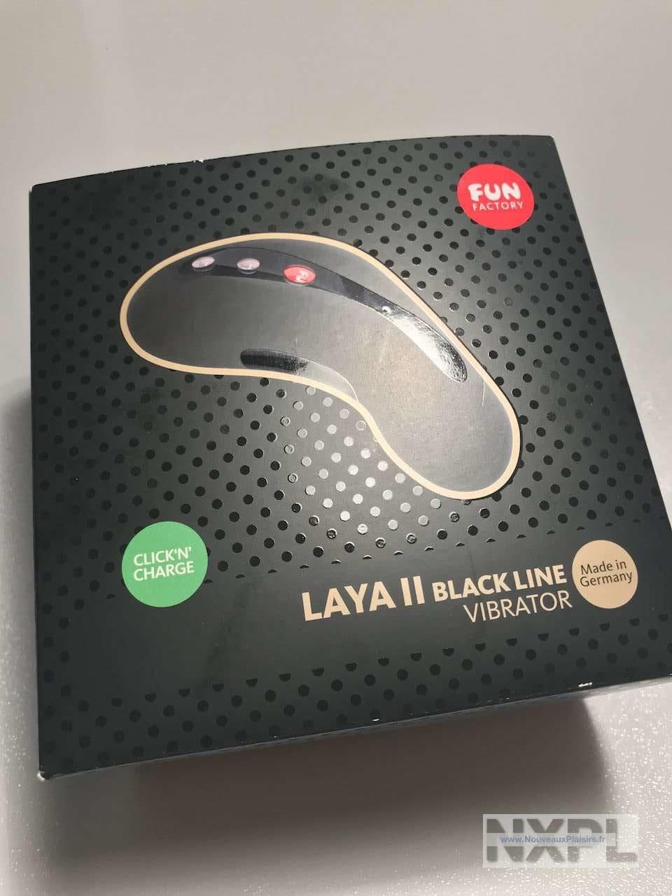 Test du stimulateur clitoridien Fun Factory Laya 2 Blackline - NXPL
