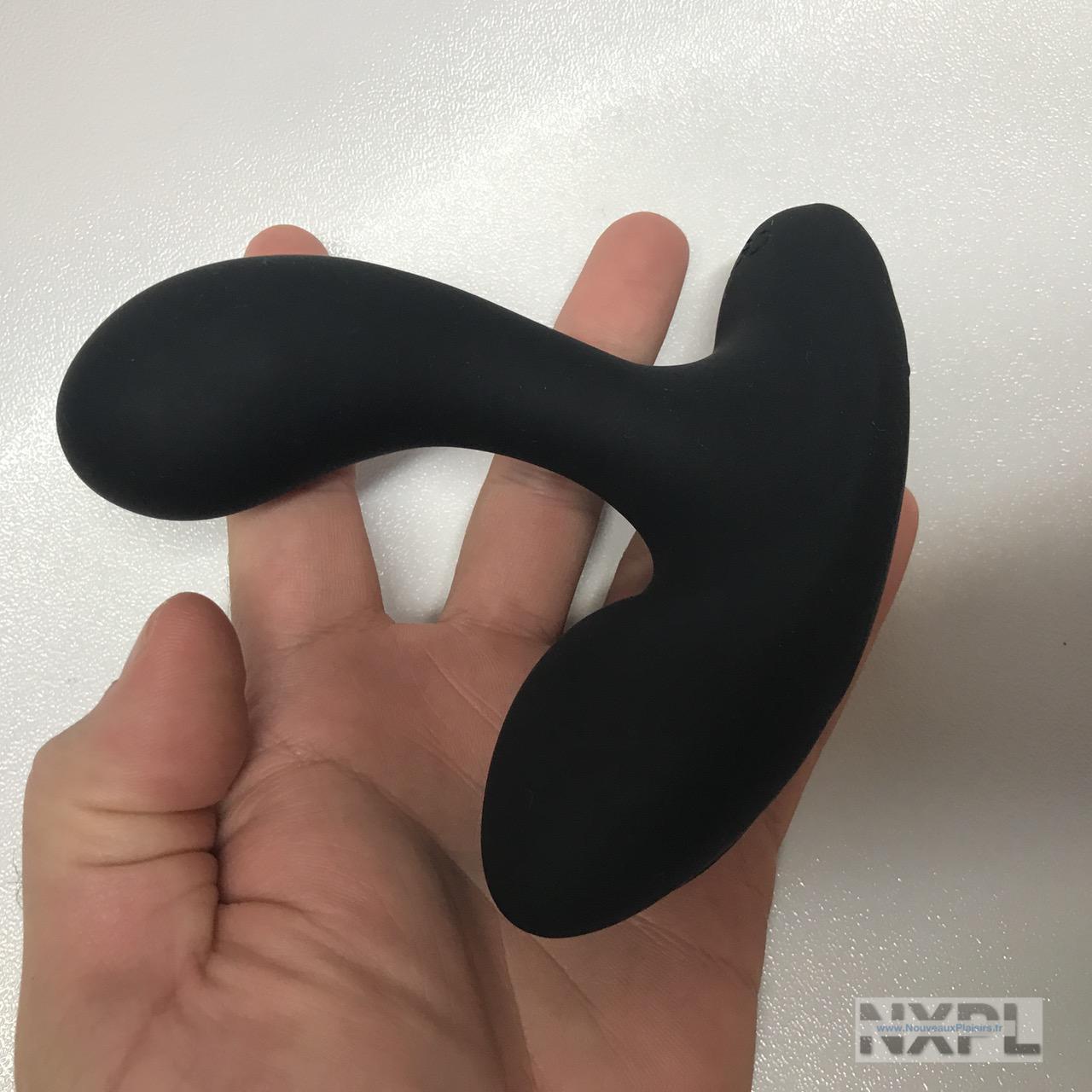 Test du masseur prostatique vibrant Malesation Anal Teaser - NXPL