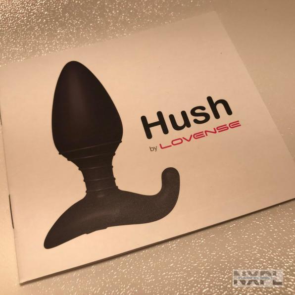Test du plug anal connecté Lovense Hush - NXPL