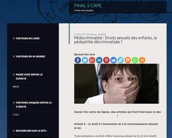 Fake news sur l'éducation sexuelle à l'école et la loi Schiappa - NXPL
