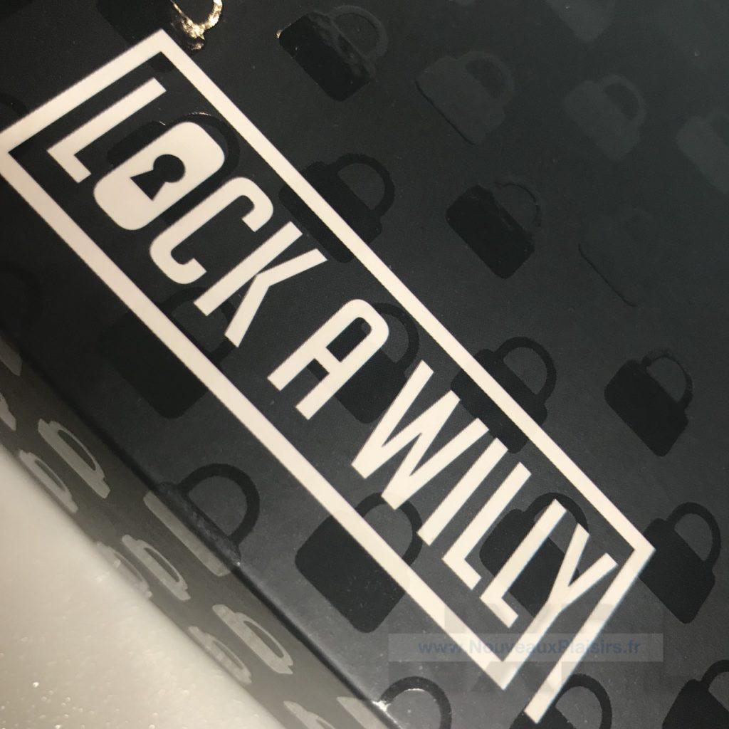 Test de la cage de chasteté Lock A Willy - NXPL