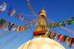 Philosophie Tibet Tempel Nepal Bodhnath