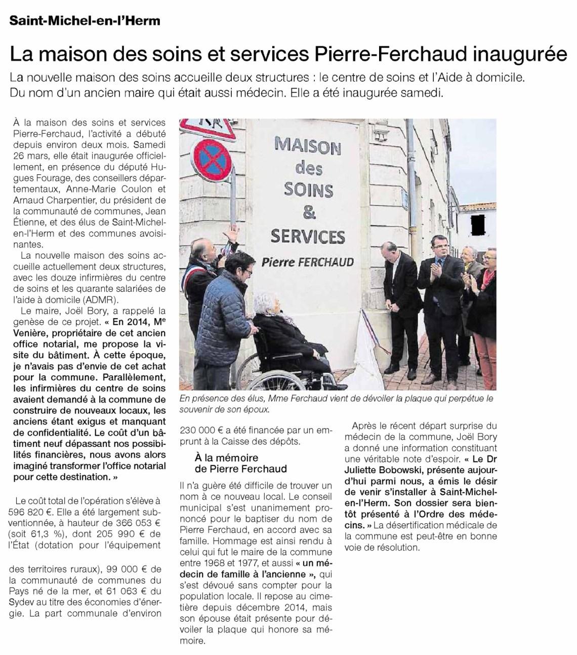 Nouvelle Dynamique Sud Vendée Arnaud Charpentier Anne Marie Coulon