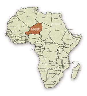 Le Niger fait le pont entre l'Afrique noire et l'Afrique du Nord.