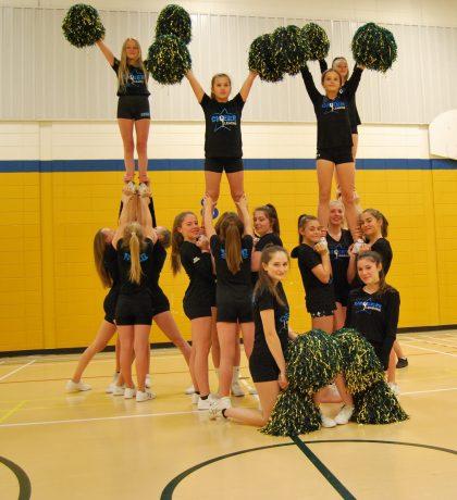 Cheerleaders are a proper staff sport!