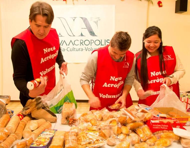voluntariado social alimentacion