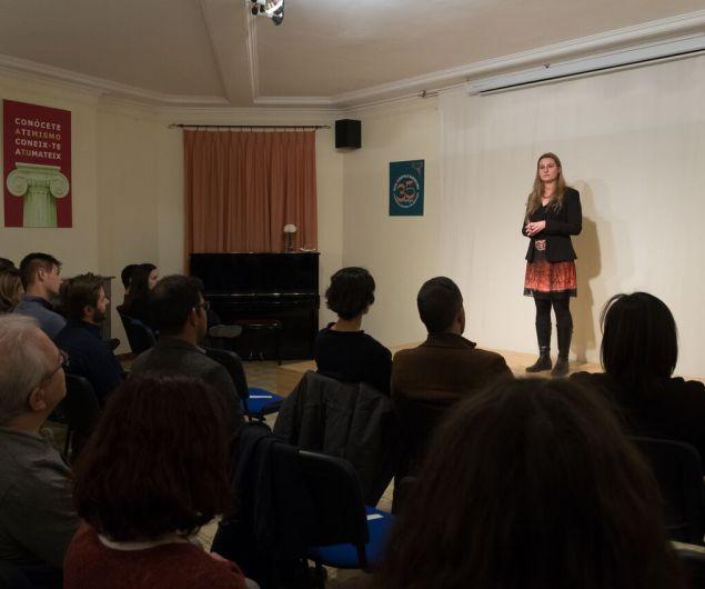 hipatia conferencia barcelona mujer