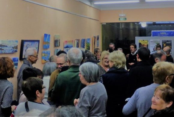 Exposición de pintura «Una amistad nacida del arte»