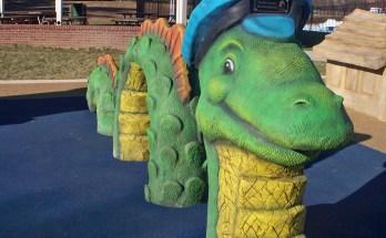 Sea Monster at Chessie's Backyard Playground
