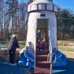 Lighthouse at Chessie's Backyard Playground