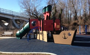 Pirate Ship play structure at Jones Point Park