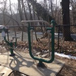 Potomac Overlook Regional Park playground exercise station