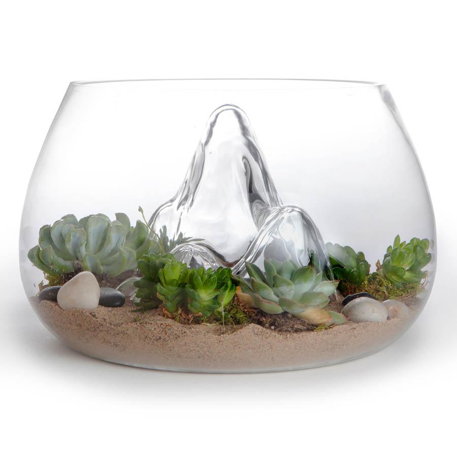 Award Winning 127 Glass Terrarium Indoor Garden NOVA68 Modern Design