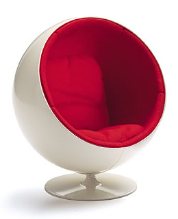 Miniature Aarnio Ball Chair By Vitra Design
