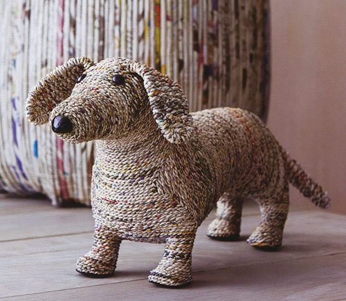 Clever The Dog Dachshund Home Decor Sculpture