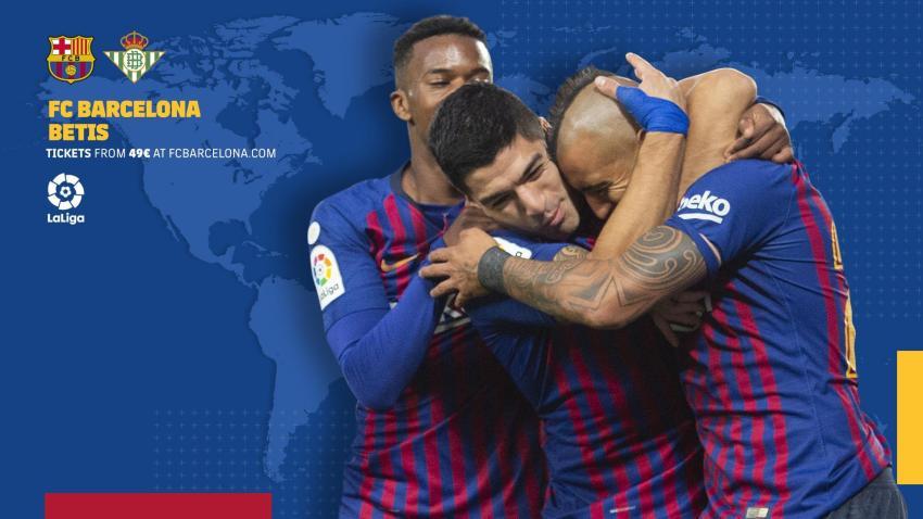 Prediksi Bola FC Barcelona VS Real Betis - Nova88 Sports