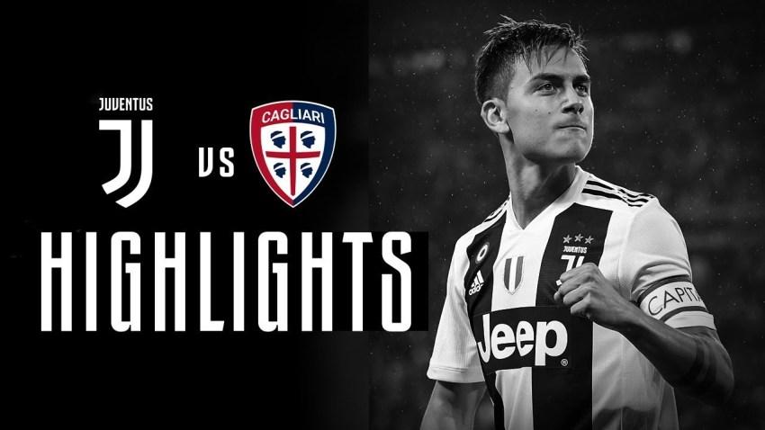 Prediksi Bola Juventus VS Cagliari - Nova88 Sports